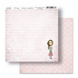 "Papel Scrapbooking coleccion AMELIE AND FRIENDS ""MARTINA"""