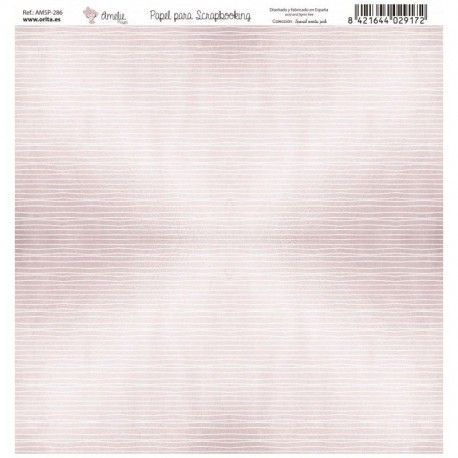 Papel Scrap SPECIAL EVENTS PINK rayas
