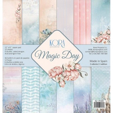 "Pack papeles Kora Proyects"" MAGIC DAY"""